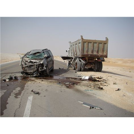 road accidents in saudi arabia Campaigners in saudi arabia said the figures were alarming, according to saudi gazette it quoted abdul hameed al moajil, chairman of the society for traffic safety, as saying the statistics were indicative of a steady rise in serious road accidents in the kingdom.