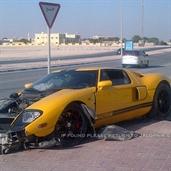 Ford Gt Crash In Qatar