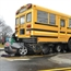 Mustang and School Bus